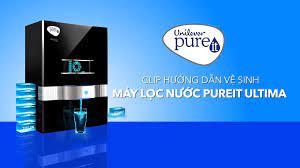 Unilever Pureit Vietnam - Hướng dẫn vệ sinh máy lọc nước Pureit Ultima
