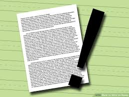 how to write an essay pictures wikihow image titled write an essay step 11