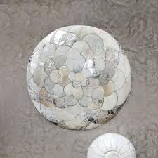 petal patchwork round cowhide rug cowhide rug metallic silver cowhide rug silver