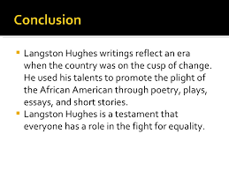 hughes essay outlines langston hughes essay outlines