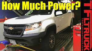 2018 Chevy Colorado ZR2 Diesel: You Won't Believe These Dyno ...