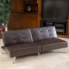 Alston Clack Oversized Convertible Faux Leather Sofa by