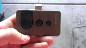 reprogramming garage door remotes how to program craftsman garage door opener remote reprogram connect set in
