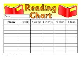 Printable Class Reading Records For Primary School Sparklebox