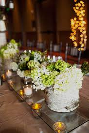 Birch Bark Centerpieces