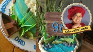Fishing Cake Tutorial 90th Birthday Cake Ideas Youtube