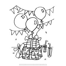 Verjaardagkadootjes Slingers En Ballonnen Kinderen Intended For