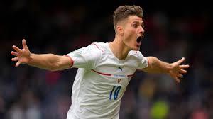 Patrik Schick erzielt Tor von der Mittellinie - Doppelpack beim  Tschechien-Sieg in Schottland - Eurosport