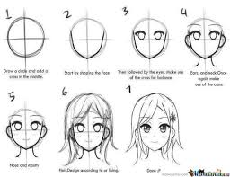 Manga Ideas Manga Step By Step Drawing Meme Center Largest Creative Humor