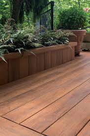 Pecan deck, skirt planter Zuri Photo Gallery Filtered   Zuri Decking