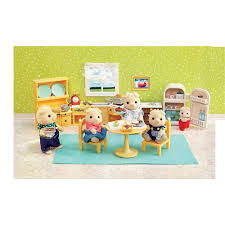 Kitchen Set Calico Critters Kozy Kitchen Set Toysrus