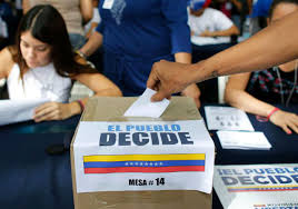 Resultado de imagen de la oposicion venezolana voto el 15 de octubre