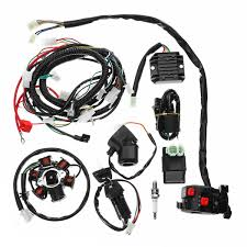 full electrics wiring harness loom cdi coil for gy6 150cc atv quad full electrics wiring harness loom cdi coil for gy6 150cc atv quad go kart buggy cod