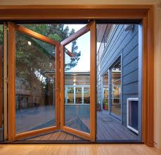 sliding glass door deck beach style with wood casing aluminum outdoor bistro sets2