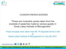 July Quotes Custom Inspiring Words From R Gopalakrishnan Lessons From Legends
