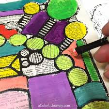 Small Picture Using a Stencil to Create Your Own Coloring Page Carolyn Dube