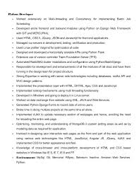 Python Developer Resume 13 Python Developer