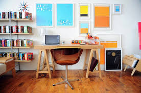 inspiring home office decoration. colorful home office brilliant with artwork on ideas inspiring decoration i