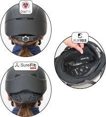 Equestrian Helmet Size Chart Helmet Fitting Guide Troxel Helmets