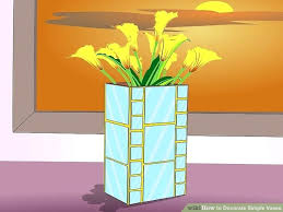 image titled decorate. How To Decorate A Vase Image Titled Simple Vases Step 4 Ideas M