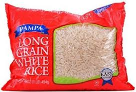 bag of white rice. Interesting Bag Pampa Long Grain White Rice 1lbbag 6 Bags And Bag Of