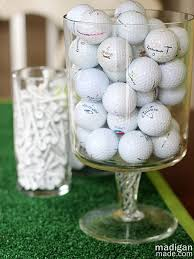 Golf Ball Decorations Golf Inspired Wall and Kitchen Décor Rosyscription 7