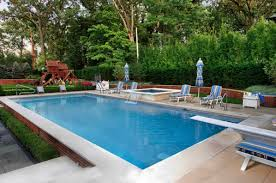 Rectangle pool Above Ground Rectangle Pool With Automatic Pool Cover Ideal Pools Gallery Of Pool Choices For Ideal Pools