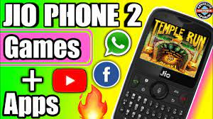 Jio Phone 2 - All New Apps and Games in jio phone 2