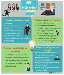 Career Interview Tips Job Interview Tips Useful English Phrases For A Job