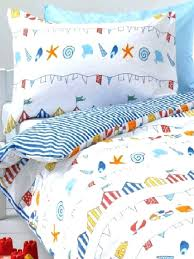 beach themed single duvet cover beach themed bedding the curtains are from the same fabric but