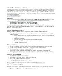 Resume Template Pediatrician Examples And Salary Internal Cover