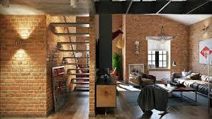 Loft Design Brick Loft Design Interior Design Ideas