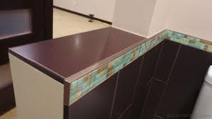 Installing Tile Backsplash Interesting 48 Tile Edge Trim Options Besides Bullnose Tile DIYTileGuy