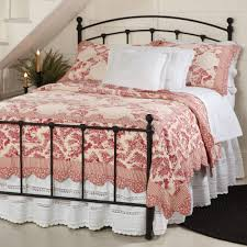 cool design ideas french toile bedding sets new 3 28060 red country style