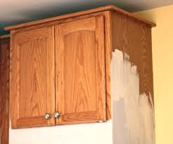 painting wood kitchen cabinetsPainting Wood Kitchen Cabinets White  Home Design Ideas