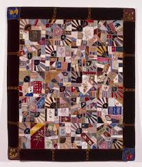 From the Collection–Wisconsin Crazy Quilt | Milwaukee Art Museum Blog & Margaret A. Beattie (American, b. ca. 1860), Crazy Quilt Adamdwight.com