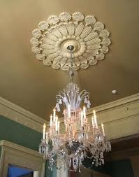 what size ceiling medallion for foyer chandelier to ratio and i on how install easy way install ceiling medallion