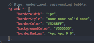 Customizing The Rendering Of Matching Brackets Issue