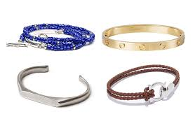clockwise from top left wrap bracelet by isaia from 395 love bracelet