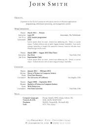 Resume Outline Example For High School Students Best of Latex Resume Templates Latex Resume Templates Latex Resume Template
