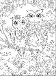 Free Printable Owl Coloring Pages Free Printable Fantasy Coloring