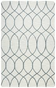 rizzy home caterine wool round area rug 8 ft khaki brown grey trellis geometric