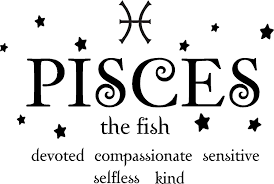 Sticker Perfect Pisces The Fish Horoscope Zodiac Vinyl Wall Art Decal Home Decor Sayings Quotes