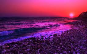50 Purple Ocean Wallpapers Download At Wallpaperbro