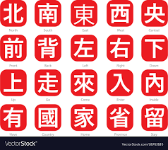 Chinese Words Chinese Word Logo 7