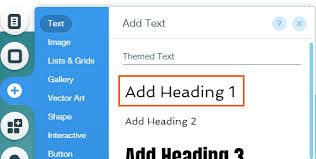 About Heading Tags Help Center Wix Com