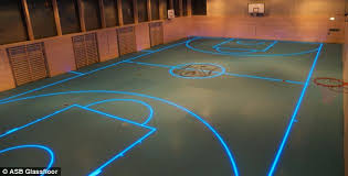 floor lighting led. The LED Lighting Is Then Covered In Layers Of Toughened Glass Coated Floor Led E