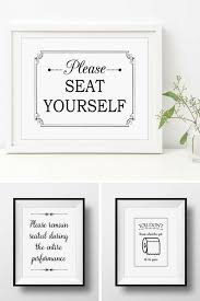 these cheeky bathroom signs are a fun way to add a bit of humor to your bathroom decor visit my website orchardberryhome com for these signs and