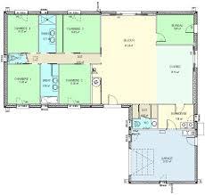 Plan Maison Gratuit Plain Pied En L
