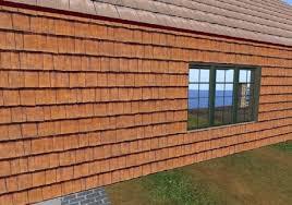 shingle siding house. Premium Cedar Wood House Siding, Exterior Wall, Shingle Siding With Full Perm Texture Included 7182
